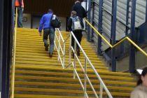 铁楼梯台阶防滑胶条照片