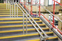 楼梯踏步安全警示防滑条图片
