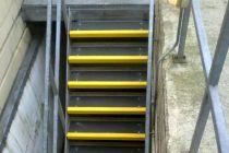 户外黑色楼梯防滑踏步地垫案例图