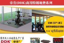 健身房器械地胶垫_健身器材下隔音减震地垫 _模块联锁型
